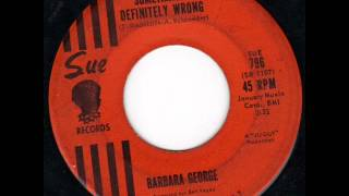 "Barbara George - ""Something"