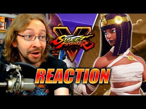 MAX REACTS: Menat Reveal - Street Fighter 5 DLC
