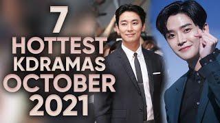 7 Hottest Korean Dramas To Watch in October 2021! [Ft. HappySqueak]