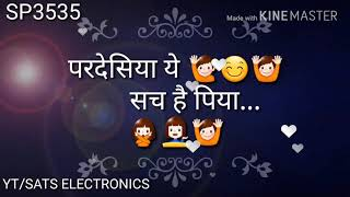 Pardesiya ye sach hai piya... (navratri, dandiya, garba) whatsapp status video