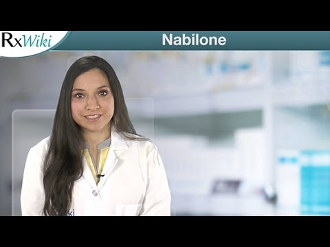 Nabilone A Prescription Used To Treat Nausea Caused By Cancer
