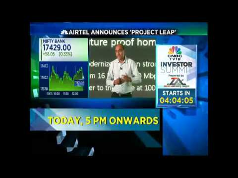 Committing Rs.60,000 Cr Of Investments For Project Leap In 3 Yrs: Bharti Airtel - Nov 30
