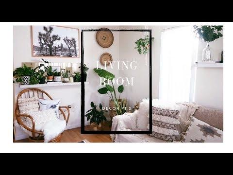 Boho Living Room Decor pt.#2