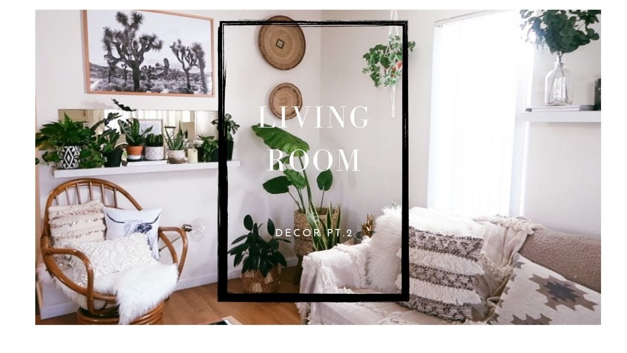 Boho Living Room Decor pt.#2