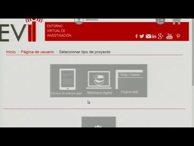 EVILINHD - Interfaz