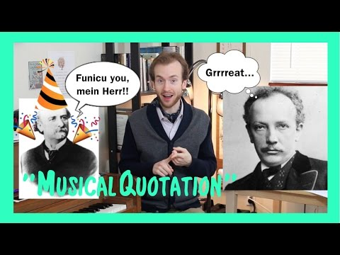 Ask a Maestro: What is Musical Quotation?