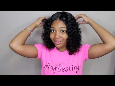 Easiest Summer Vacation Hair | Curly Hair Routine ft. Premier Lace Wigs.