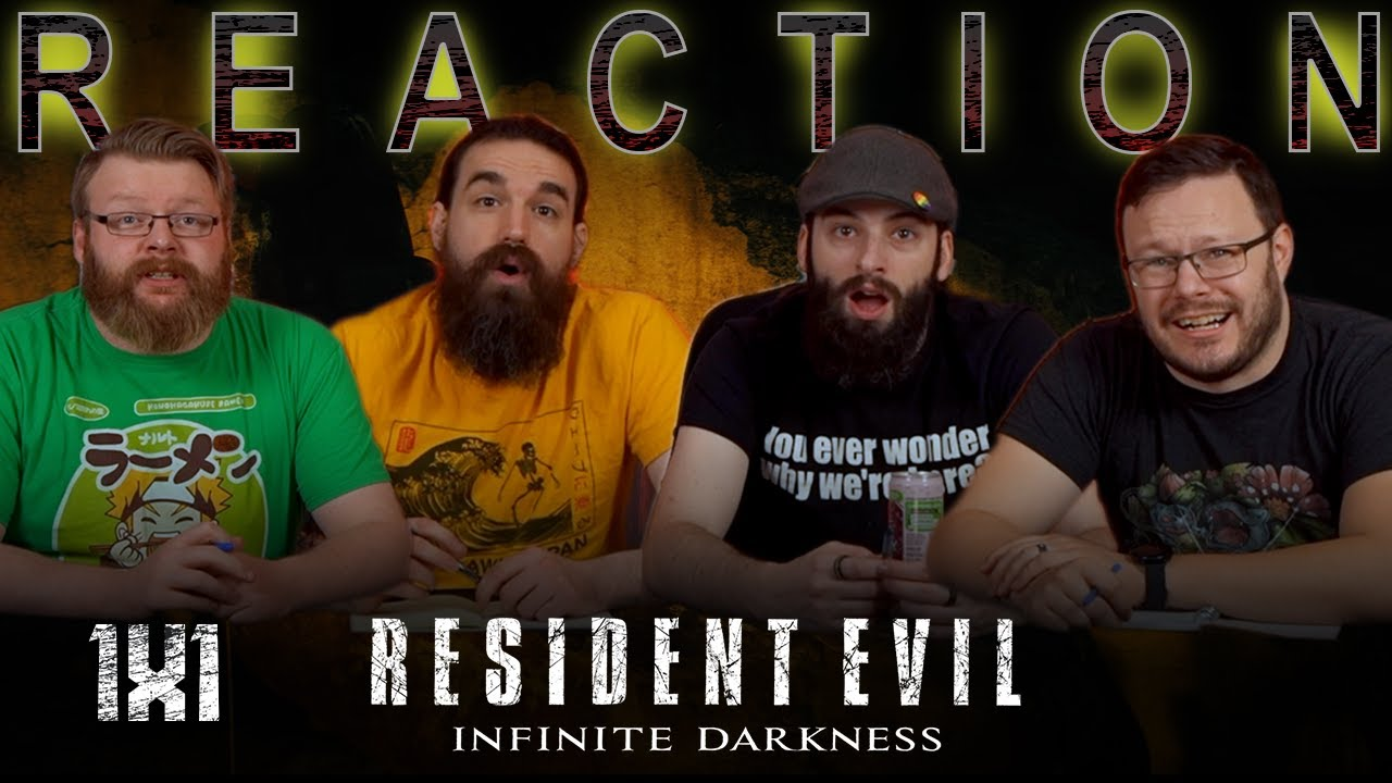 "Resident Evil: Infinite Darkness 1x1 REACTION!! ""Episode 1"""