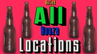 All Booze Locations on Buried (Black Ops 2 Zombies)