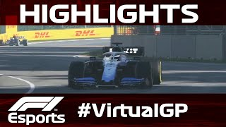 Virtual Canadian Grand Prix Highlights | Aramco