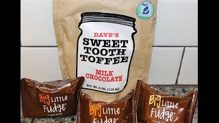 Dave's Sweet Tooth Toffee & Big Little Fudge: Mega Maple Nut, The Great Divide & Big League Review