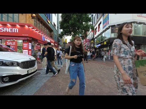 [4K] 대구 동성로 - Walking around Dongseongno Street, Daegu, Korea