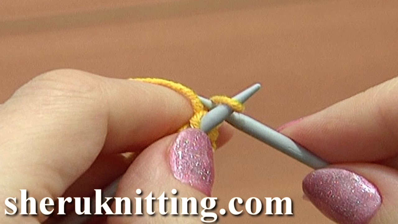 Knitting Tutorial Cable Cast On : Knit rib cable cast on tutorial method of knitting