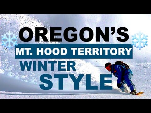 The Travel Vacation Guide ✈ (FREE TV EPISODES) - OREGON'S MT. HOOD TERRITORY WINTER STYLE