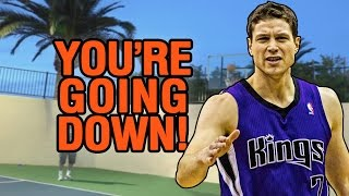 Jimmer Fredette 3-Point Contest (Sacramento Kings Fan Party)