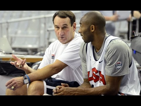 Mike Krzyzewski Coach K Talks About Kobe Bryant and Compares Him to Michael Jordan