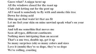 Baixar Kid Cudi Girls ft Too $hort (Indicud) Lyrics on Screen