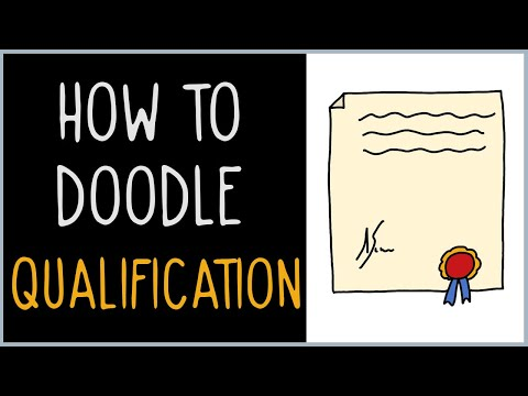 How to Draw a Qualification (drawing tips)