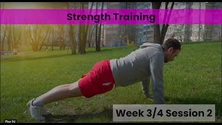 Strength - Week 3/4 Session 2 (mHealth)