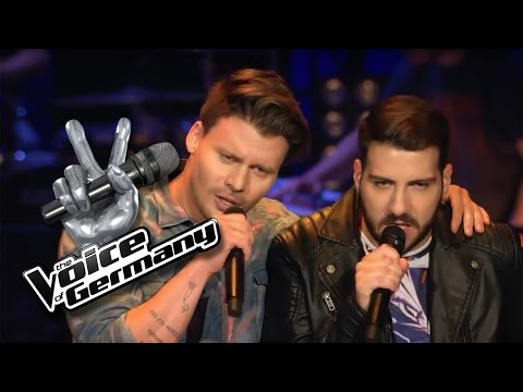 Oh Johnny - Jan Delay | Alessio vs. Darius Cover | The Voice of Germany 2016 | Battles
