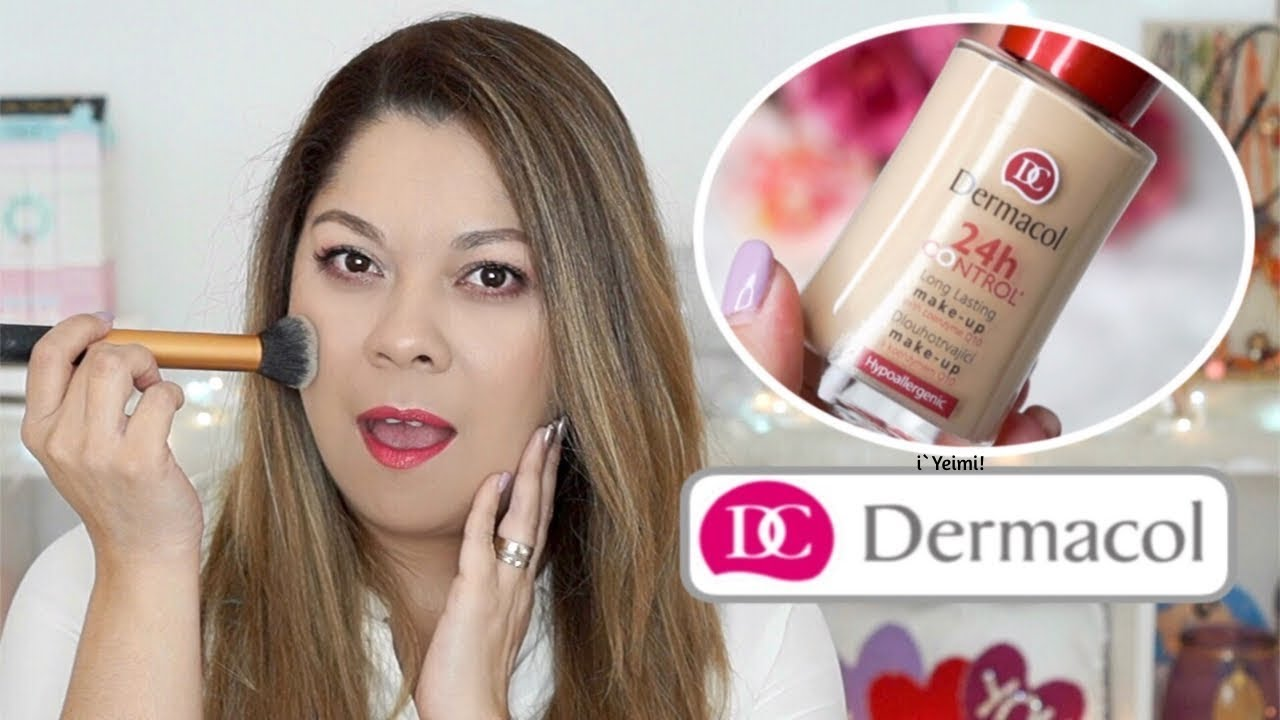 5fcf3ccce DERMACOL 24H CONTROL MAKE UP | RESEÑA💗Y E I M I💗 - YouTube