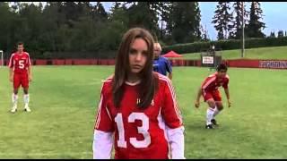 Аманда забивает красивый гол !