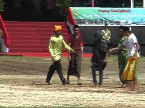 Indonesia -- Cultural Event on Ternate Island for Presidential visit on 20-12-2012