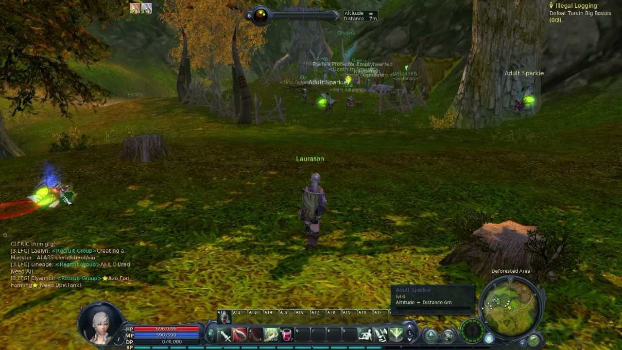 Aion gameplay