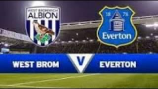 مشاهدة إيفرتون ووست بروميتش ألبيون بث مباشر Everton and West Bromwich Albion Live