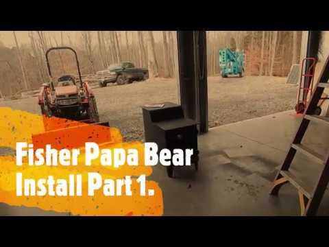 Fisher Papa Bear Install Part 1