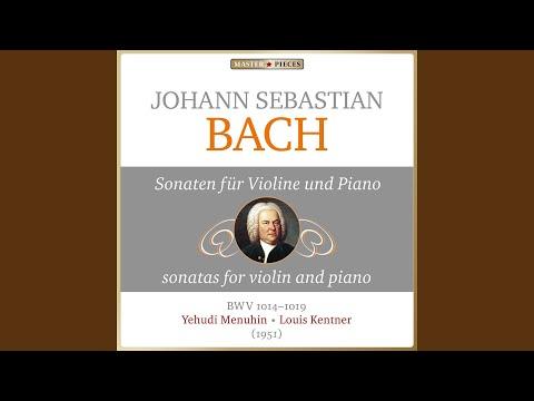 Sonata No. 4 In C Minor, BWV 1017: I. Largo