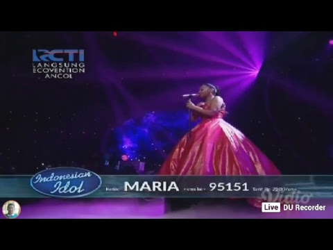 Grandfinal Indonesian idol 2018.. Maria - my heart will go on