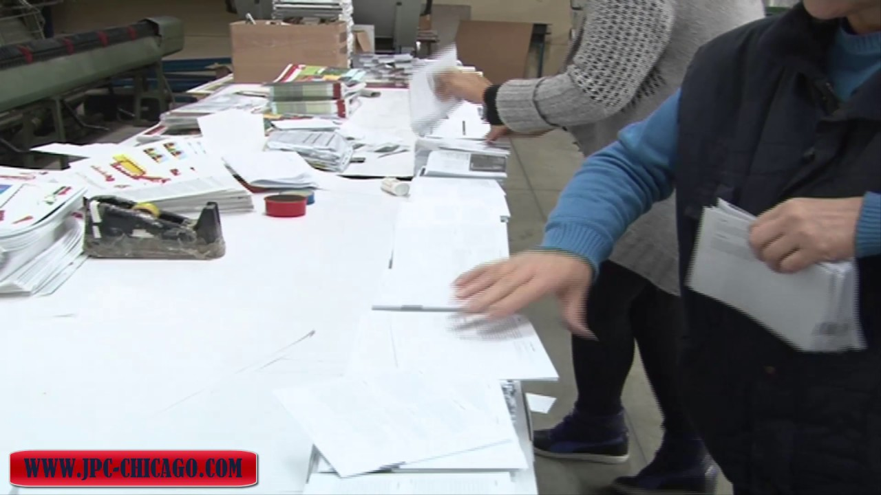 f64c3432f5d How Books Printed -Chicago Printing Center and Services - YouTube