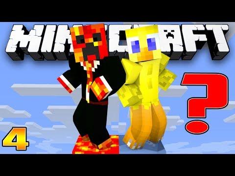 Minecraft Survival: SECRET SURPRISE?!?! - (Skyblock Episode 4) - w/Preston & Choco