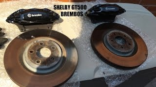Shelby GT500 Brembo Brakes
