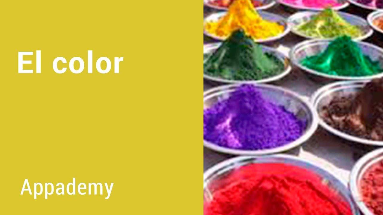 El color (Plástica) - Explicación interactiva - YouTube
