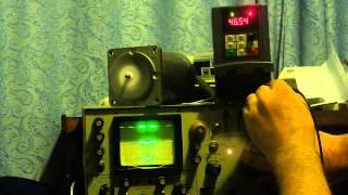Осциллограмма работы частотного преобразователя