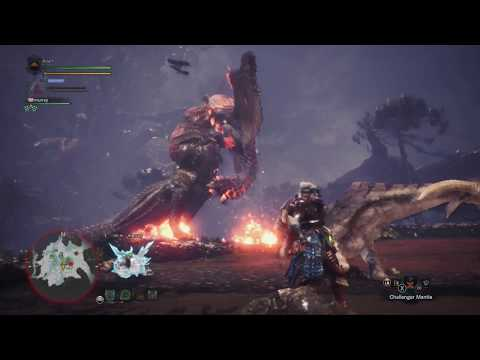 monster hunter world foodchain in ancient forest |