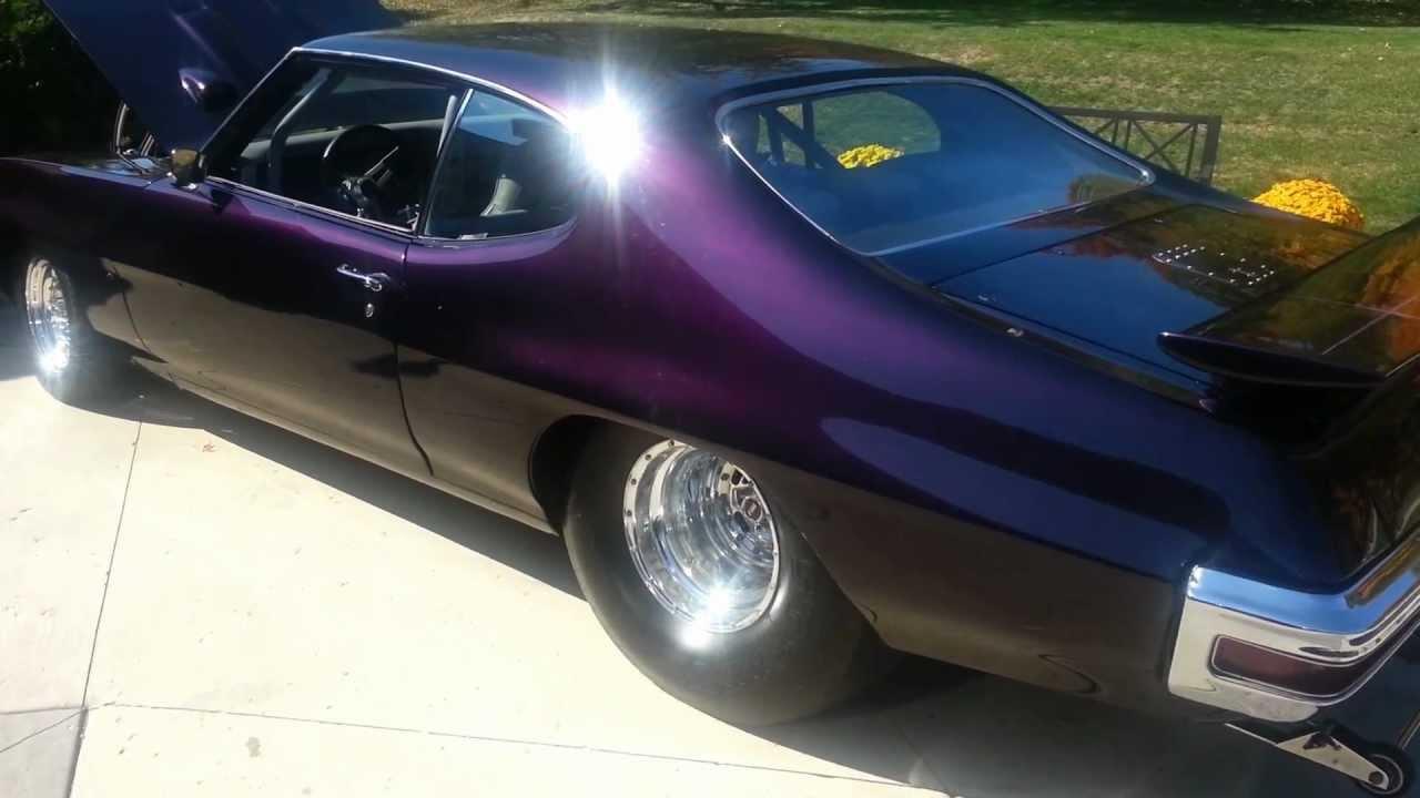 1970 Gto Pro Street 427 Ci Youtube