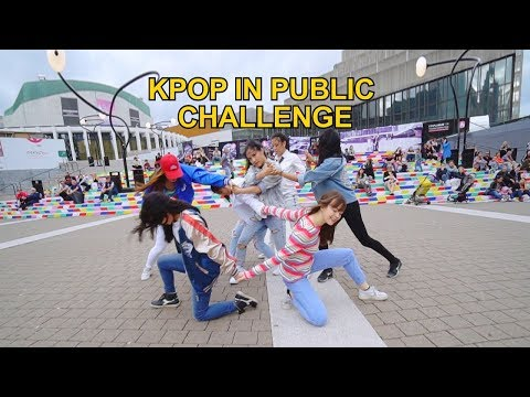 [EAST2WEST] Dancing Kpop in Public Challenge: BTS (방탄소년단) - DNA
