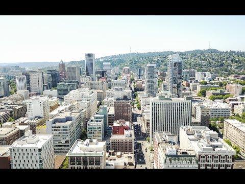 Portland, Oregon by Air