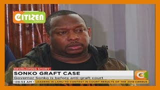 Nairobi Governor Mike Sonko pleads not guilty to graft charges at the Milimani Law Courts