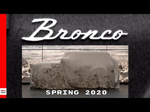 Ford Bronco Will Be Unveiled in Spring 2020
