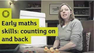 Early maths skills: counting on and back | Oxford Owl