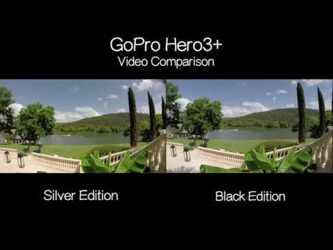 GoPro 3+ Black vs Silver Video Comparison - GoPro Tip #357