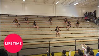 Check out the Divas of Olive Branch unique dance routine in the sta...