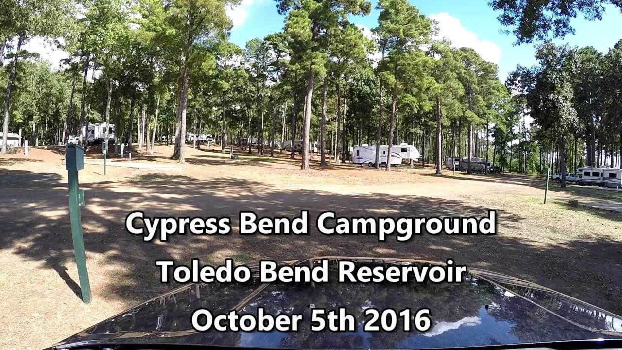 Toledo Bend Reservoir, Cypress Bend Campground - YouTube