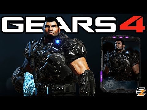 "Gears of War 4 - ""Black Steel Classic Dom"" Character Multiplayer Gameplay! (Black Steel Baird DLC)"