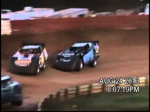 Wes Branner - Eastside Speedway 8/24/13