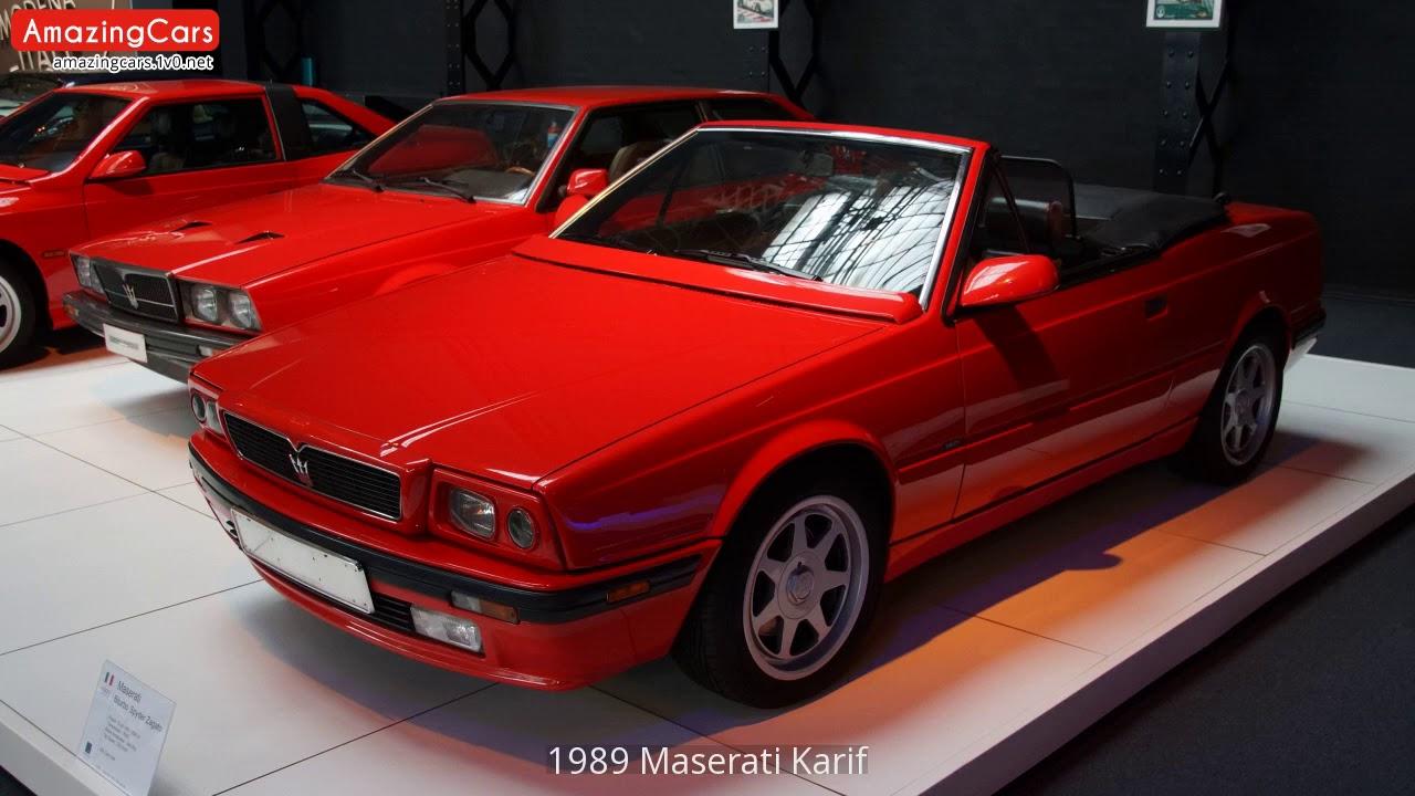 1989 Maserati Karif - YouTube